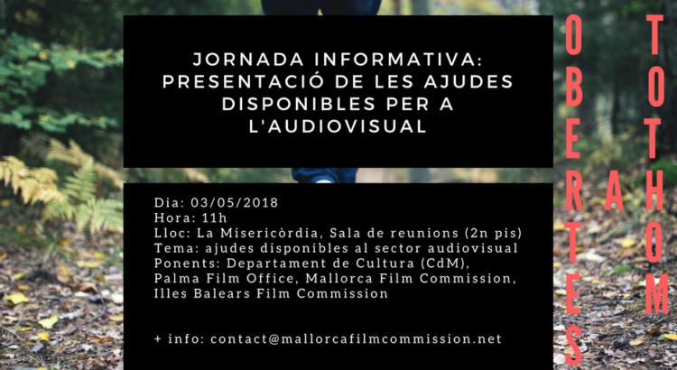 Jornada Informativa per presentar les ajudes disponibles per a l'audiovisual